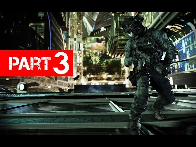 Call of Duty Ghosts Gameplay Walkthrough Part 3 - Let's Play (Xbox 360/PS3/PC)