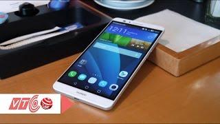 Cận cảnh smartphone cao cấp Huawei Mate 7   VTC