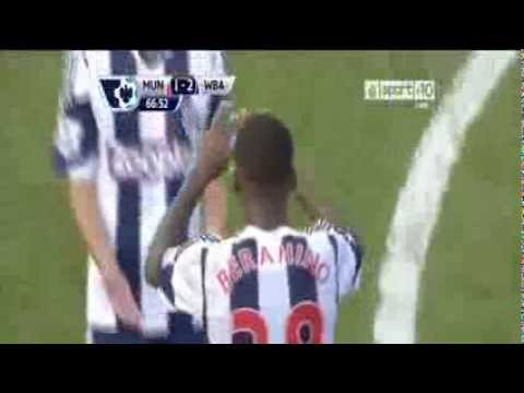 Manchester United Vs West Brom 1 2 2013 Goals & Highlights 28 9 2013) HD
