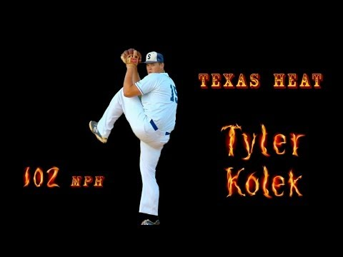 Tyler Kolek - MLB  Prospect, Texas High School Baseball