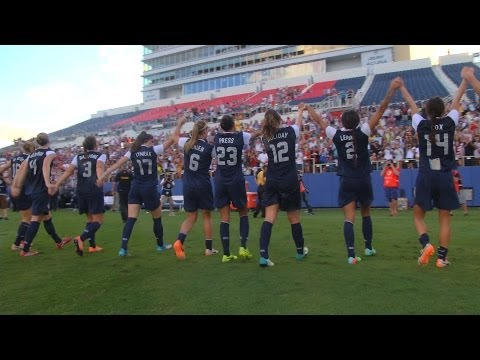 WNT vs. Russia: Field Level Highlights - Feb. 8, 2014