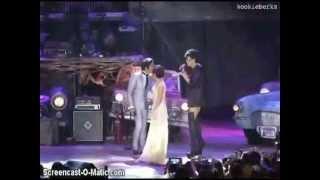 Daniel, Kathryn, Vice On StageDaniel Padilla's Concert