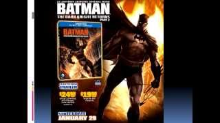 Upcoming Marvel & DC Movies 2013 2015