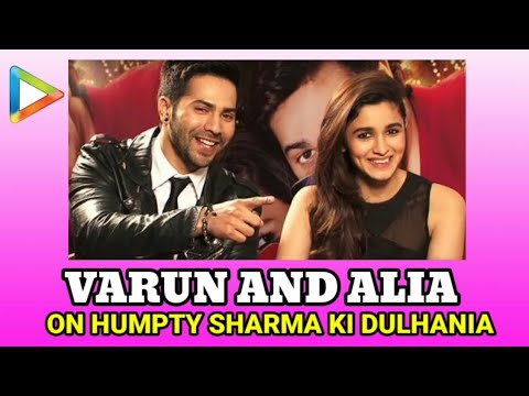 Varun Dhawan And Alia Bhatt Fun Exclusive On Humpty Sharma Ki Dulhania Part 1