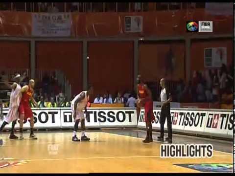 1/2 finale :  Cote d'Ivoire 59-66 Angola