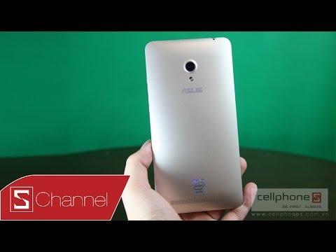 Mở hộp Zenfone 6 phiên bản màu vàng Gold