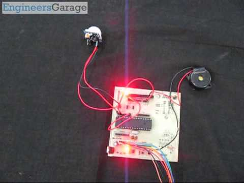 8051 Microcontroller based Human Motion Detection Project using PIR Sensor