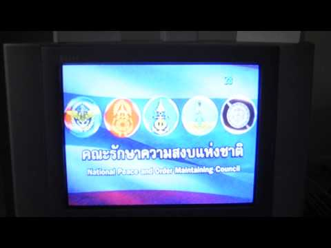 Thai TV during Coup d'état 2014
