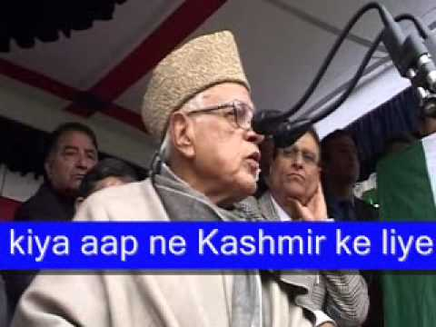 BJP exposes Dr. Farooq Abdullah for voilating Model Code of Conduct and speech as an anti indian