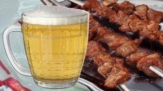 [Shashlik in beer] Video