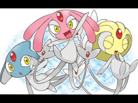 Pokemon - Mesprit Uxie Azelf Battle - 8-bit