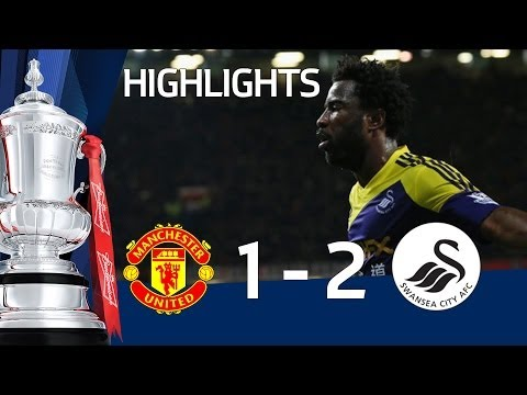 Manchester United vs Swansea City 1-2, FATV, FA Cup Third Round Proper 2013-14 highlights