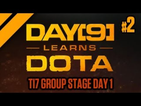Purge and Day[9] watch TI7 Group Stage Day 1 - P2