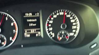 Volkswagen Jetta 2011 1.2 TSI 0-130Km/h hızlanma testi