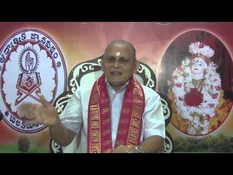 """""""Upadesa Saram"""" Of Bhagavan Sri Ramana Maharshi : Day 04 :Shlokam 4 : Sri Chalapathirao"""