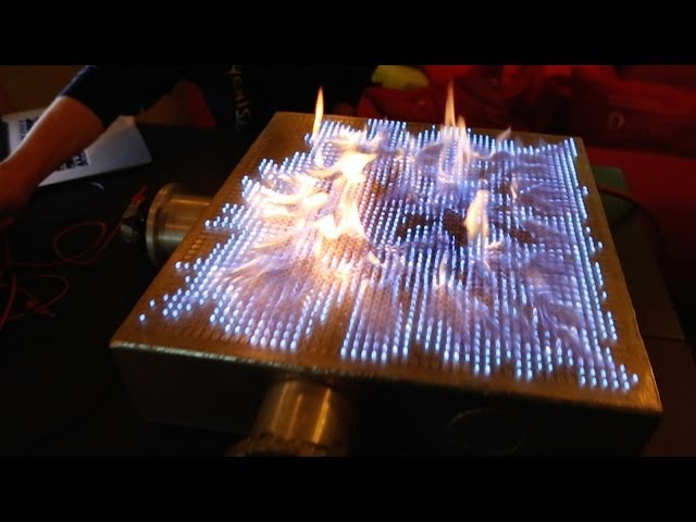 play video: Pyro Board |2D Rubens' Tube