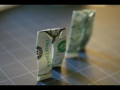 geld falten hose