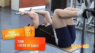Faça Diferente com Lucas di Santi: Treino de Bíceps