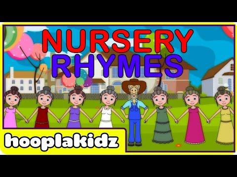 Nursery Rhymes Songs, As I was Going to St. Ives, Favorite Nursery Rhymes & Baby Songs by HooplaKidz