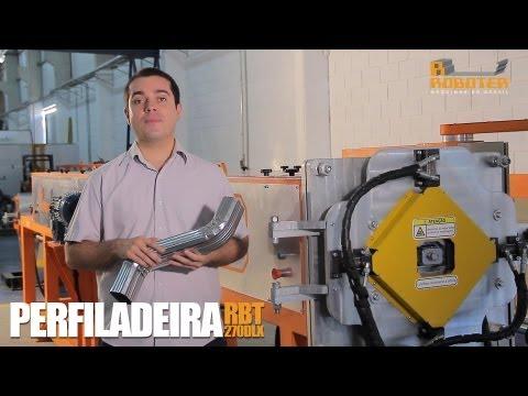 PERFILADEIRA DE CONDUTOR - RBT 270 DLX (ROBOTER)