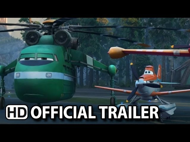 Planes: Fire & Rescue Official Trailer #2 (2014) HD