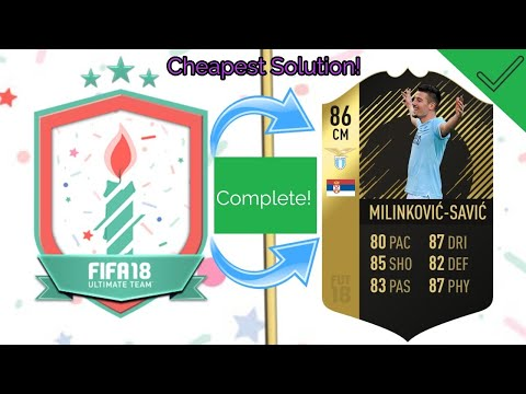 FIFA 18 FUT 17 SBC Complete! - FUT 17 Cheapest Solution! - FIFA 18 Ultimate Team