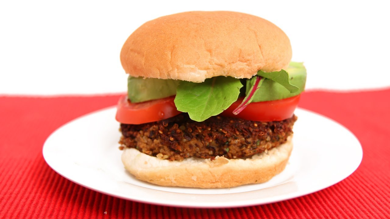Homemade Veggie Burgers Recipe — Dishmaps