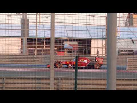 Ferrari F14T in Bahrain test 1st Day