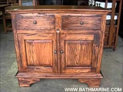 bathmarine es liquidacion 2x1 muebles r sticos colonial