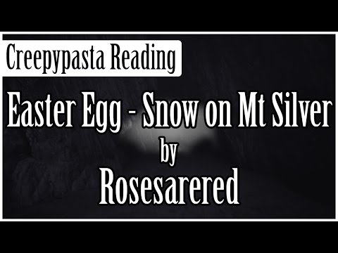 Pokémon Creepypasta Easter Egg - Snow on Mt. Silver