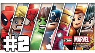 Lego Marvel Super Heroes Playthrough #2 [FR][HD]