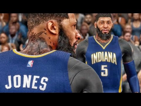 QJB USES AiiRxJONES MY PLAYER! NBA 2k16 My Career Gameplay Ep. 1