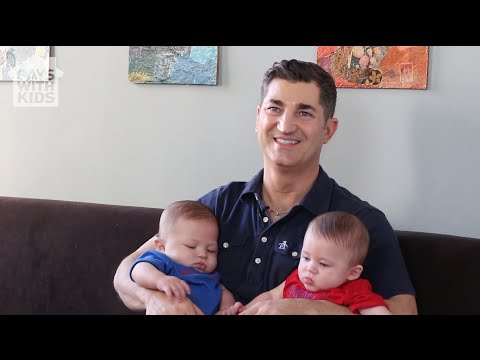 Visiting a Gay Dad Family: Michael and his Twins