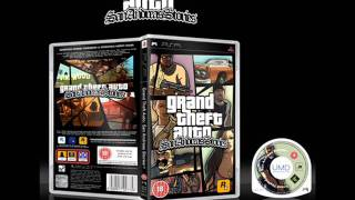 GTA: San Andreas Stories Official PSP Game Case