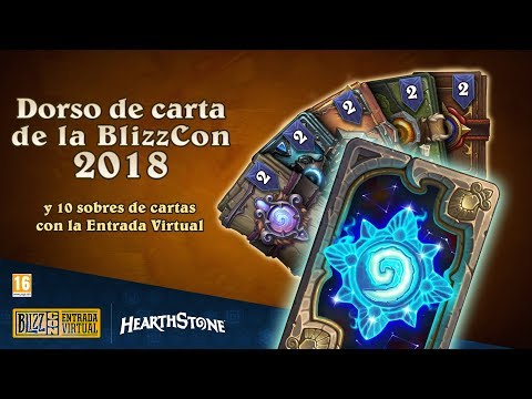 BlizzCon 2018 - Obsequios de la Entrada Virtual en Hearthstone