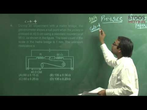 JEE Advanced 2014 Video Solution Paper 2 Physics NM Sir Q  1 to 10
