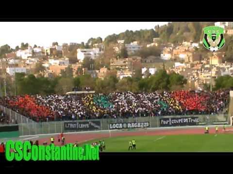 Coupe d'Algérie CSC 2 - MCA 1 : Ambiance au stade + Tifos (3)