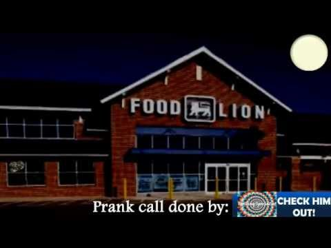 Food Lion Prank Call #1- Hard Cheese Puffs (ft. TrollingSpecialist)