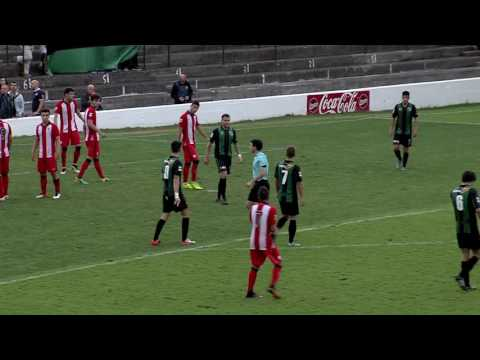 Segunda B 2016-17. Resumen Sestao River 0  - Bilbao Athletic 1
