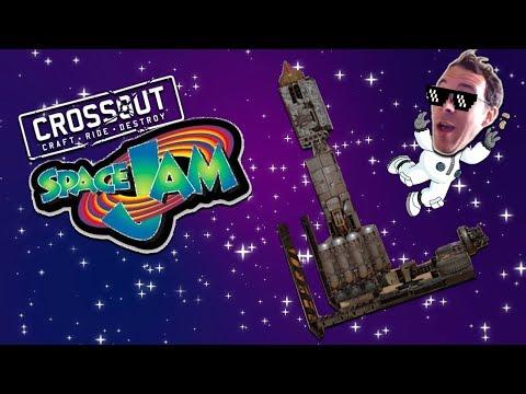Mr. G Spaceship Three Point Shot -- Crossout