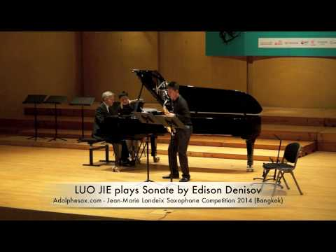 LUO JIE plays Sonate by Edison Denisov