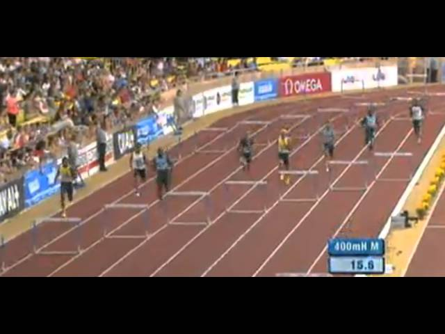 Men's 400mH - Herculis - Diamond League 2013