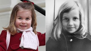 Princess Charlotte Bears a Striking Resemblance to Princess Diana in Childhood Photos