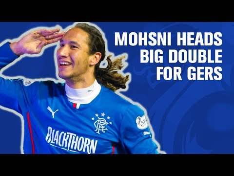 Mohsni double helps Gers past Ayr