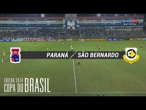 PARANÁ CLUBE 3 X 1 SÃO BERNARDO
