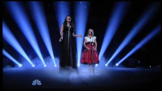 Jackie Evancho & Sarah Brightman On America's Got Talent
