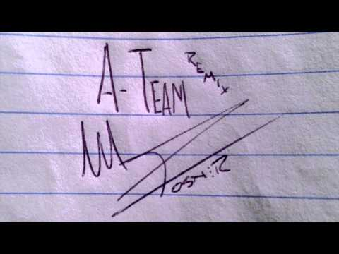 Mike Posner - A Team (Remix) (produced by Mike Posner)