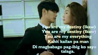 You Who Came From The Stars OST (My Destiny Tagalog