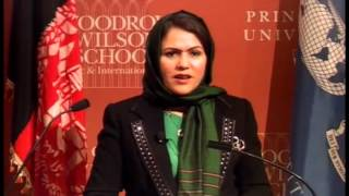 Political Transition, the Role of Women, and Prospects for Peace in Afghanistan