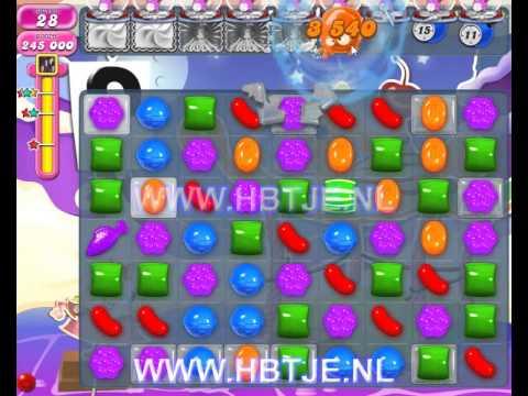 Candy Crush Saga level 658